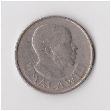 MALAVIS 10 TAMBALA 1971 KM # 10.1 VF 2