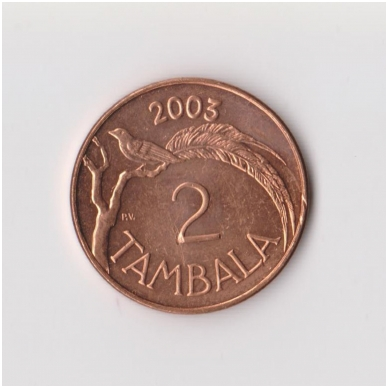 MALAVIS 2 TAMBALA 2003 KM # 34a XF