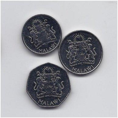 MALAVIS 2012 m. trijų monetų komplektas 2