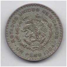 MEKSIKA 1 PESO 1964 KM # 459 VF