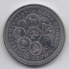 MENO SALA 1 CROWN 1979 KM # 45 UNC