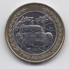 MENO SALA 2 POUNDS 1998 KM # 858 AU Lenktyninės mašinos