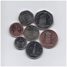 MENO SALA 2009 m. 7 monetų rinkinys