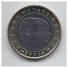 MONAKAS 1 EURAS 2001 KM # 173 UNC