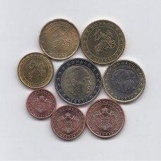MONAKAS 2001 m. EURO MONETŲ RINKINYS
