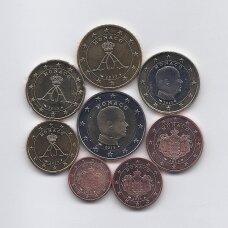 MONAKAS 2013 m. pilnas euro monetų rinkinys