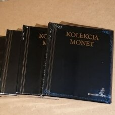 Monetų albumas 221 monetai