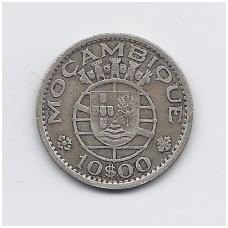 MOZAMBIKAS 10 ESCUDOS 1955 KM # 79 VF