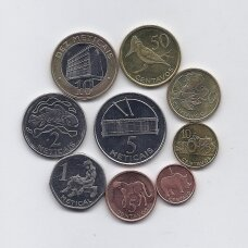 Mozambikas 2006 metų 9 monetų rinkinukas