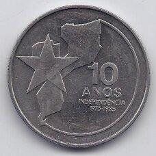 MOZAMBIKAS 250 METICAIS 1985 KM # 107a AU Nepriklausomybė