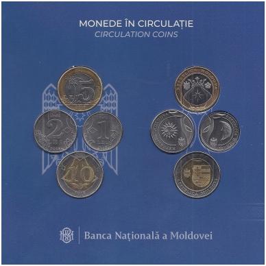 MOLDOVA 2018 m. OFICIALUS BANKO RINKINYS 2