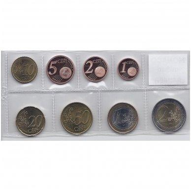 MONAKAS 2002 - 2005 m. EURO MONETŲ RINKINYS 2