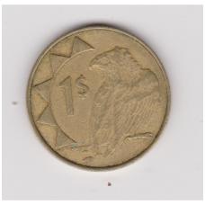 NAMIBIJA 1 DOLLAR 1996 KM # 4 VF ( BRIAUNOS TIPAS NR.2 )
