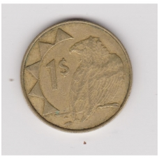 NAMIBIJA 1 DOLLAR 2002 KM # 4 VF