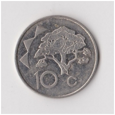 NAMIBIJA 10 CENTS 1996 KM # 2 VF