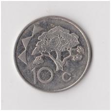 NAMIBIJA 10 CENTS 1998 KM # 2 VF
