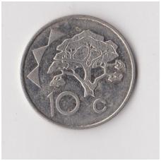 NAMIBIJA 10 CENTS 2002 KM # 2 VF