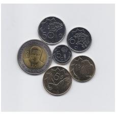NAMIBIJA 6 monetų rinkinukas 2010 - 2012 m.