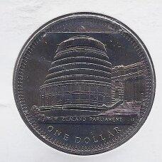 NAUJOJI ZELANDIJA 1 DOLLAR 1978 KM # 47 AU