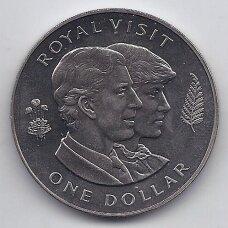NAUJOJI ZELANDIJA 1 DOLLAR 1983 KM # 52 AU