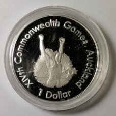 NAUJOJI ZELANDIJA 1 DOLLAR 1989 KM # 67a PROOF