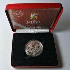 "NAUJOJI ZELANDIJA 1 DOLLAR 2005 KM # 156a PROOF Britų ""Liūtai"""