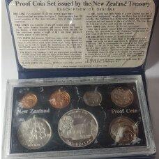 NAUJOJI ZELANDIJA 1977 m. 7 monetų proof rinkinys