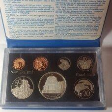 NAUJOJI ZELANDIJA 1978 m. 7 monetų proof rinkinys