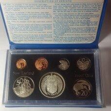 NAUJOJI ZELANDIJA 1979 m. 7 monetų proof rinkinys