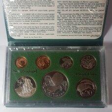 NAUJOJI ZELANDIJA 1980 m. 7 monetų proof rinkinys