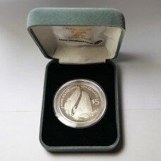 NAUJOJI ZELANDIJA 5 DOLLARS 2003 KM # 272a PROOF Amerikos taurė