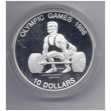 NAURU 10 DOLLARS 1995 KM # 9