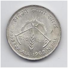 NEPALAS 10 RUPEE 1968 KM # 794 XF FAO