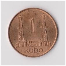 NIGERIJA 1 KOBO 1973 KM # 8.1 XF