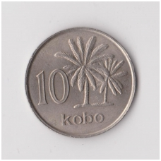 NIGERIJA 10 KOBO 1976 KM # 10.1 XF