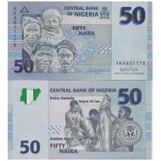NIGERIJA 50 NAIRA 2006 P # 35 UNC