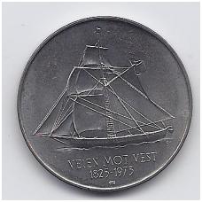 NORVEGIJA 5 KRONER 1975 KM # 422 UNC