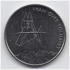 NORVEGIJA 5 KRONER 1996 KM # 459 UNC