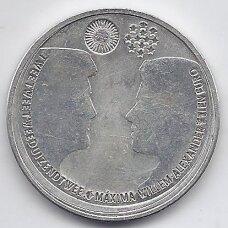 NYDERLANDAI 10 EURO 2002 KM # 244 XF