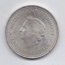 NYDERLANDAI 10 GULDEN 1970 KM # 195 VF/XF