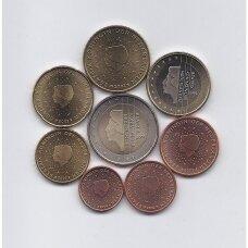 NYDERLANDAI 2002 m euro monetų rinkinys