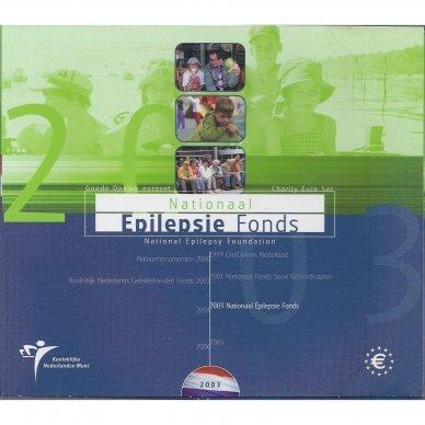 NYDERLANDAI 2003 m. OFICIALUS BANKINIS RINKINYS