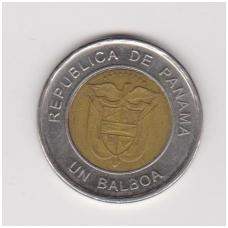 PANAMA 1 BALBOA 2011 KM # 141 VF