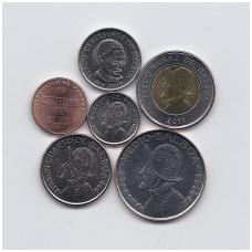 PANAMA 2008 - 2011 6 MONETŲ RINKINYS