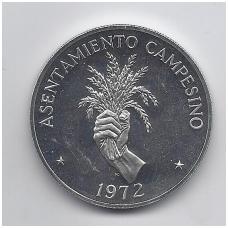 PANAMA 5 BALBOAS 1972 KM # 30 UNC F.A.O.