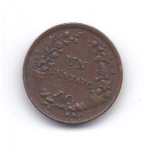 PERU 1 CENTAVO 1936 KM # 208 VF