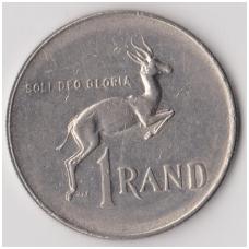 PIETŲ AFRIKA 1 RAND 1977 KM # 88a VF