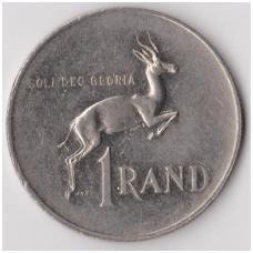 PIETŲ AFRIKA 1 RAND 1979 KM # 104 VF