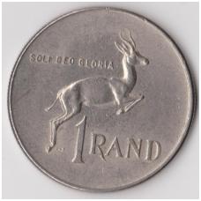 PIETŲ AFRIKA 1 RAND 1982 KM # 115 VF