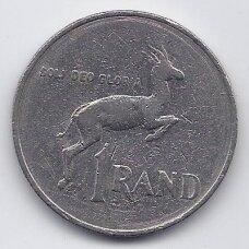 PIETŲ AFRIKA 1 RAND 1985 KM # 117 F-VF